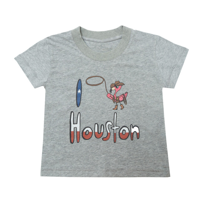 Houston T-Shirt, Grey