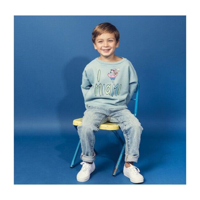 Miami Sweatshirt, Blue