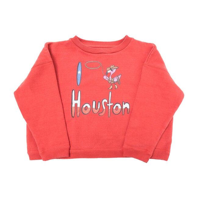 Houston Sweatshirt, Red