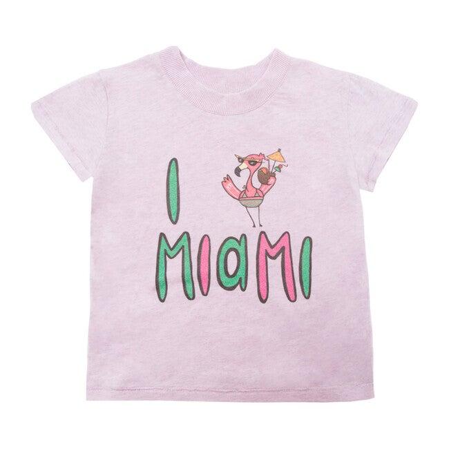 Miami T-Shirt, Purple