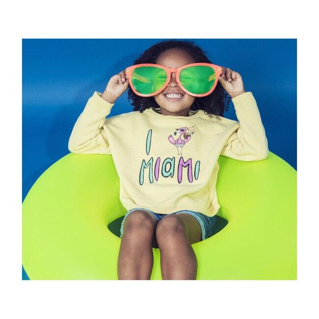Miami Sweatshirt, Lemon