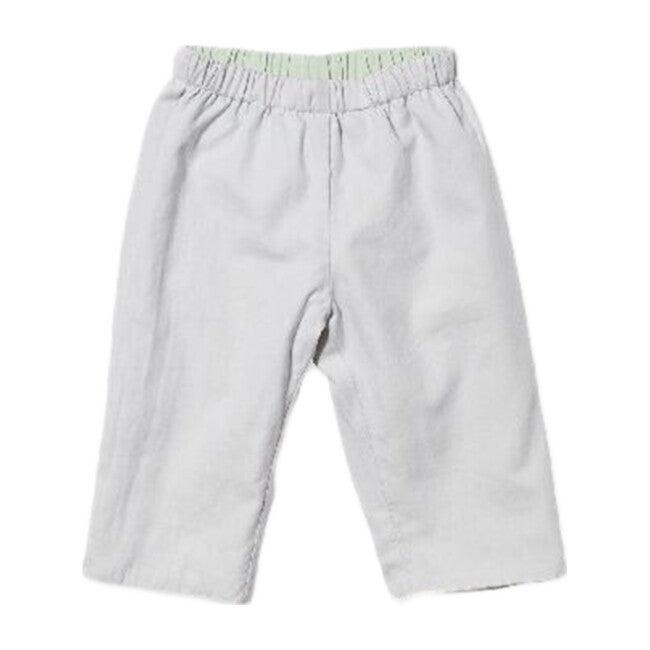 Reversible Baby Pant, Seafoam/Grey