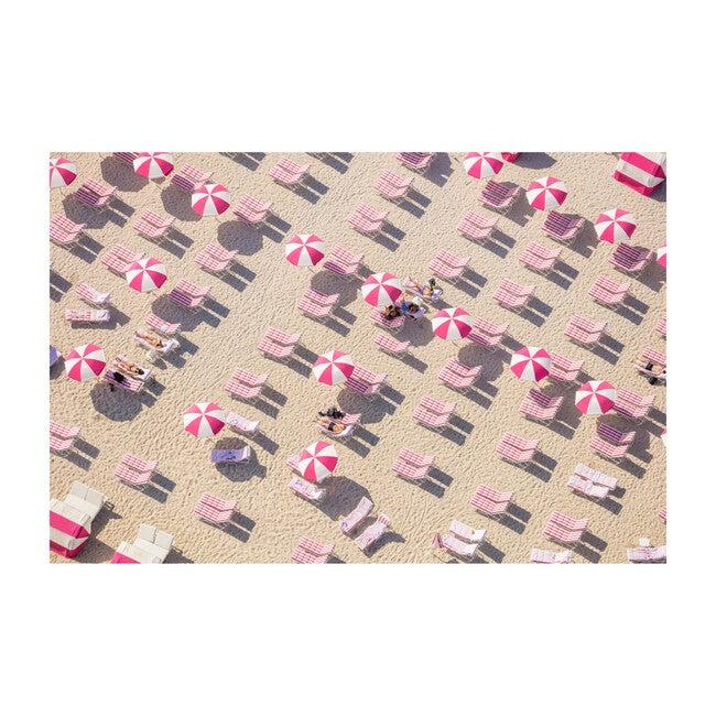 Pink and White Beach Club