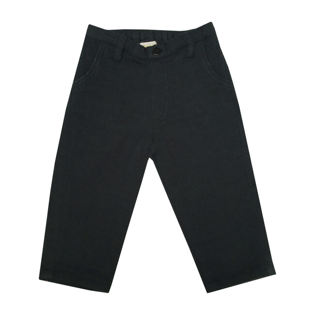 Thomas Trousers, Navy - Pants - 1
