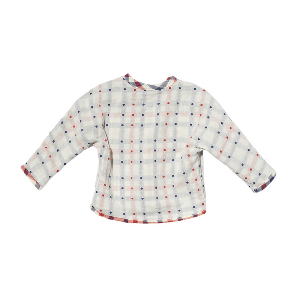 Jack Lee Baby Shirt, Red Check