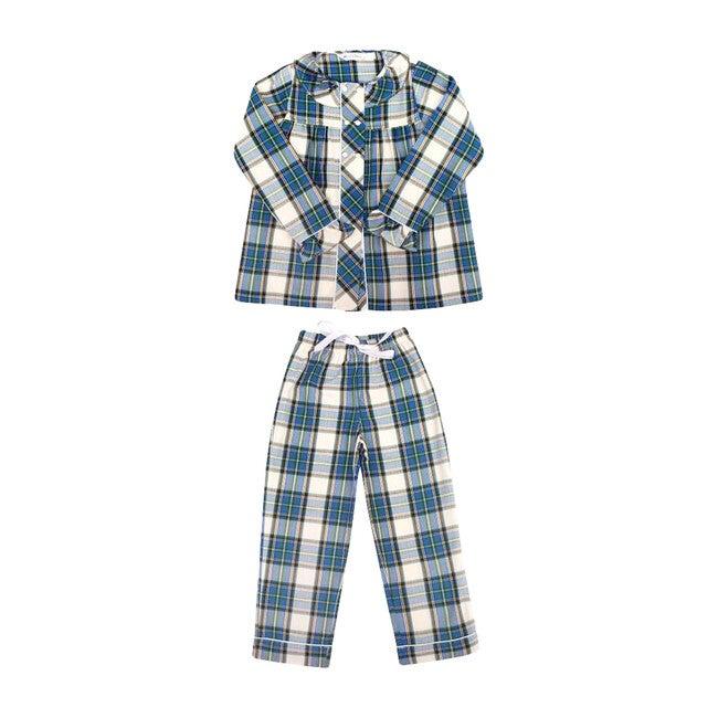 Grace Pyjamas, Plaid - Pajamas - 1