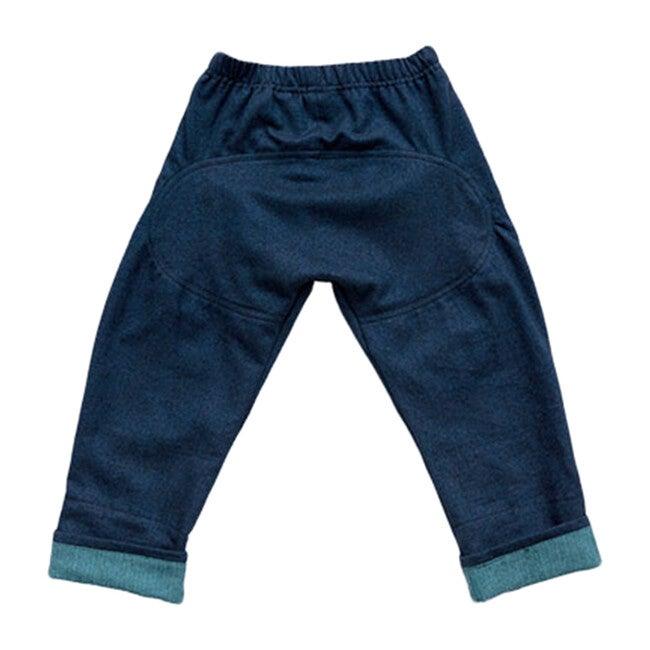 Li'L Gardener Pant, Navy Flannel