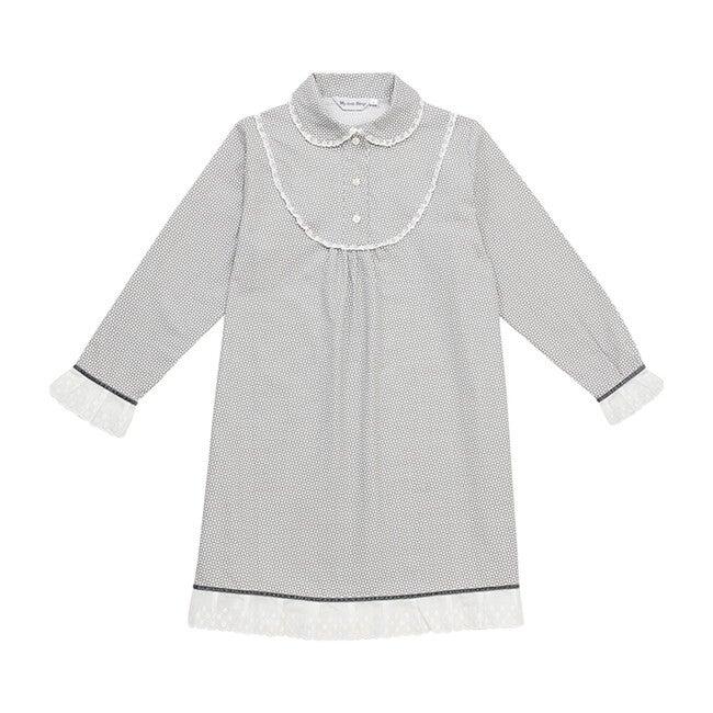 Edith Night Dress, Grey
