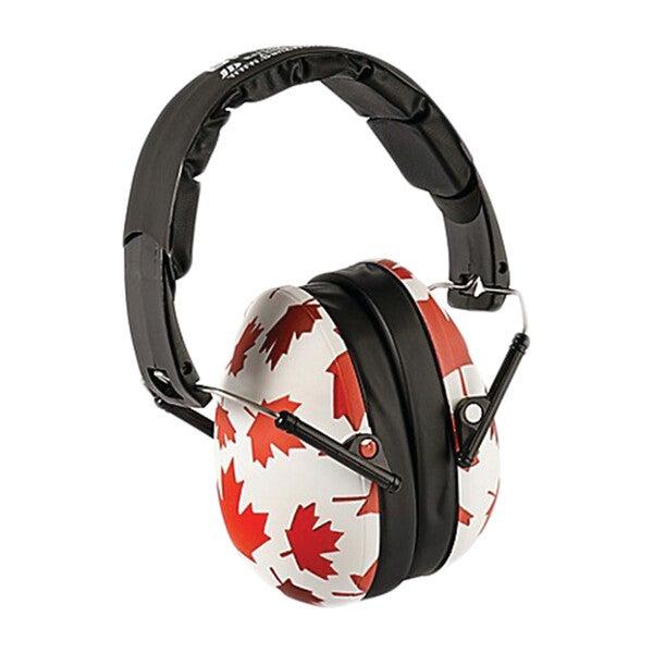 Banz Earmuffs Big Kids, Canada Maple Leaf