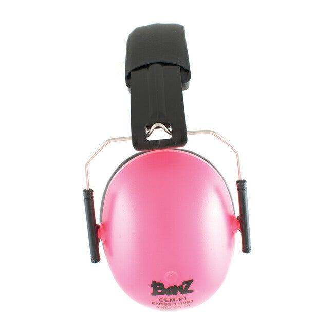 Banz Earmuffs Big Kids, Petal Pink