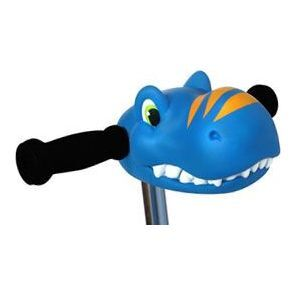 Scooter Head, Blue Dino