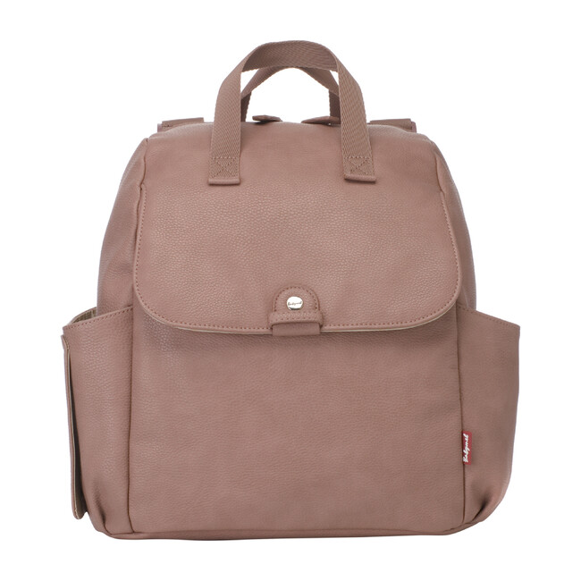 Robyn Faux Leather Convertible Backpack Diaper Bag, Dusty Rose - Diaper Bags - 1