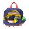 Junior Backpack, Navy Colorblock - Backpacks - 7
