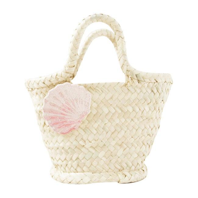 Calico Shell Bag, Natural - Bags - 1