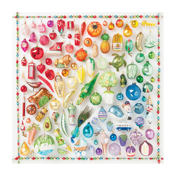 Rainbow Ornaments 500-Piece Puzzle