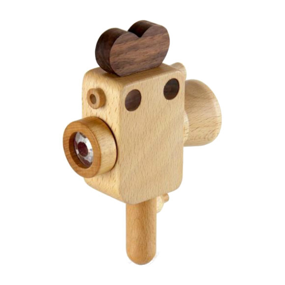 Wooden Super 8 Camera with Kaleidoscope Lens - Woodens - 1