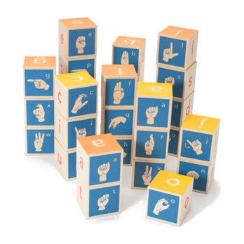American Sign Language Blocks
