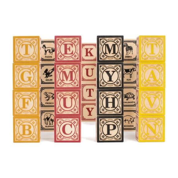 German Alphabet Blocks