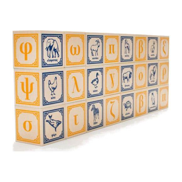 Greek Alphabet Blocks