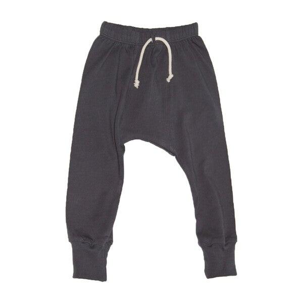 Jersey Harem Pants, Charcoal