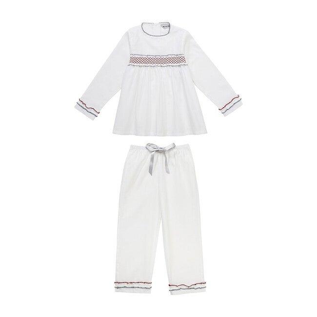 Valentina Pajamas, White