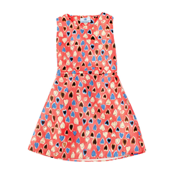 Valentina Heart Open-Back Dress