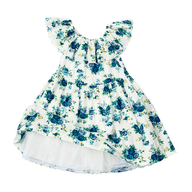 Off-Shoulder Floral Liv Dress - Dresses - 1