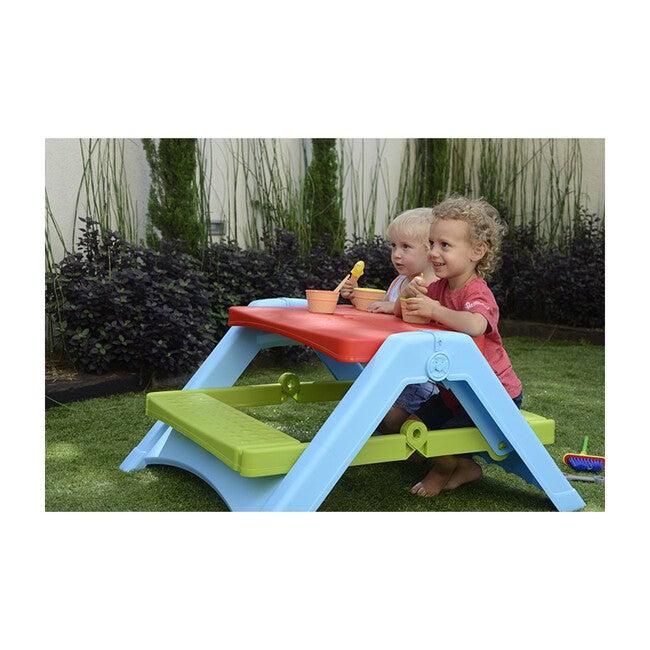Foldable Picnic Table, Multi