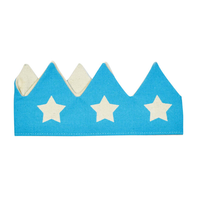 Crown With Stars, Blue