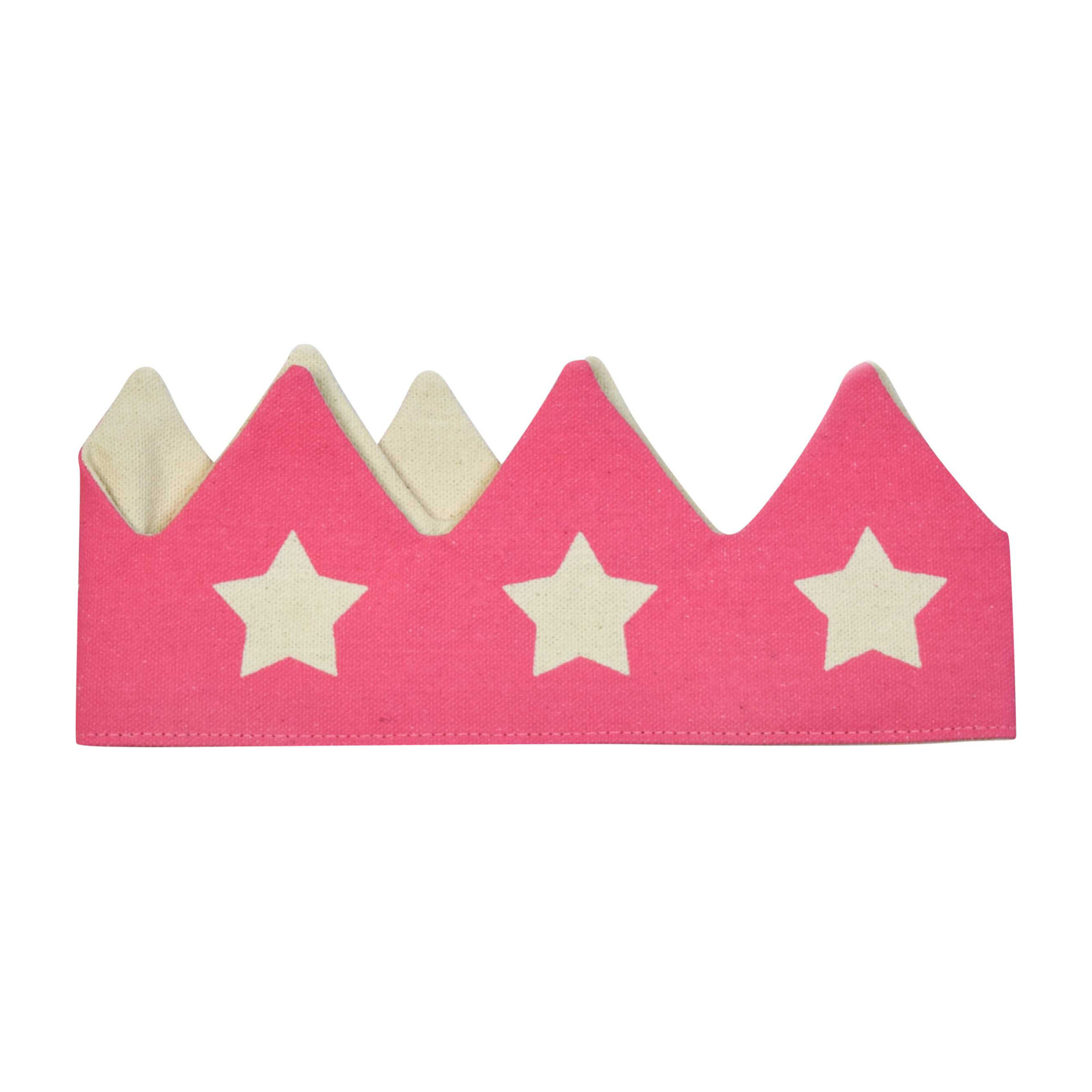 Crown With Stars, Pink
