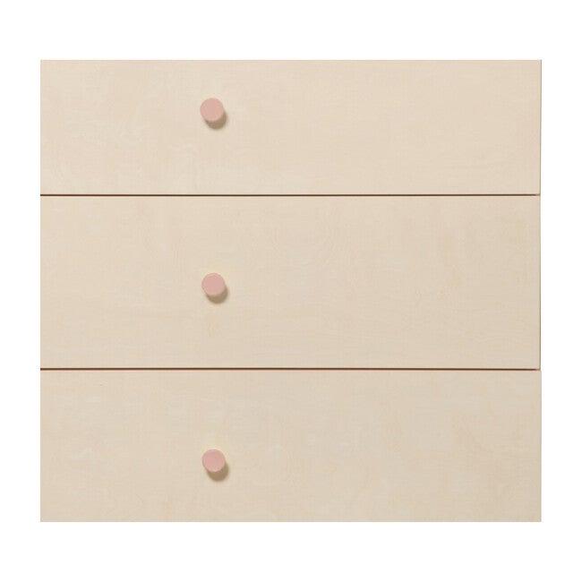 Gelato Dresser Knob Set, Petal Pink