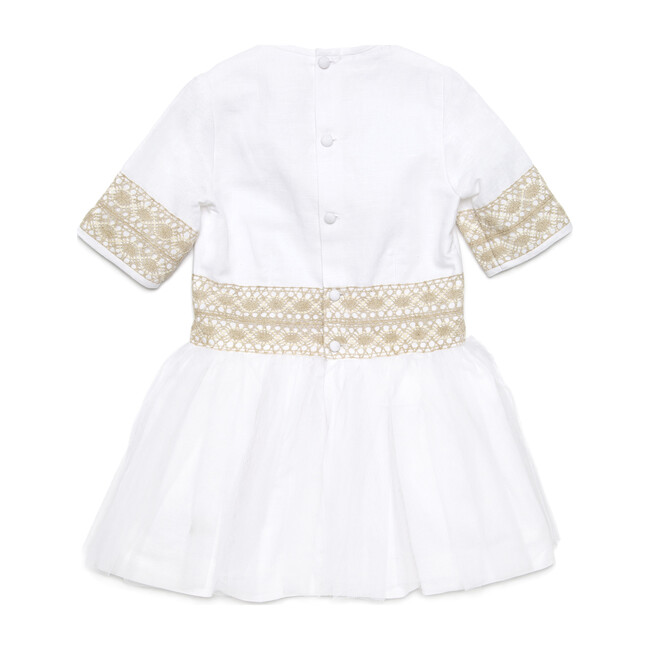 Chic Princess with Beige Lace Special Occasion Dress