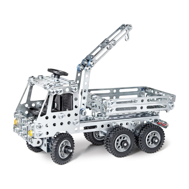 Truck + Crane Construction Set - Transportation - 1