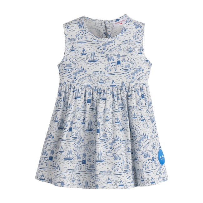 By The Sea Pinny, White