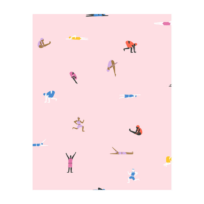 Olympians Removable Wallpaper, Ballet Slipper