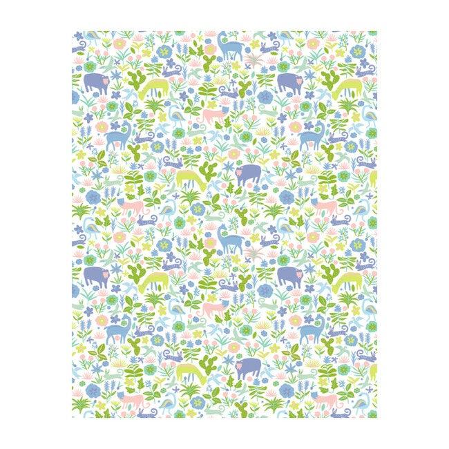 Menagerie Removable Wallpaper, Blush
