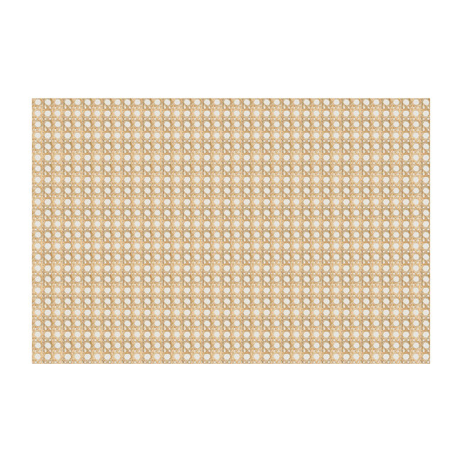 Caning Removable Wallpaper, Sand