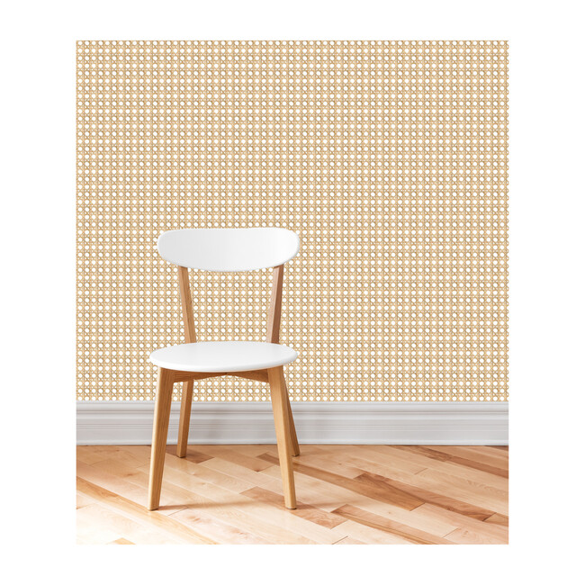 Large Caning Traditional Wallpaper, Wicker