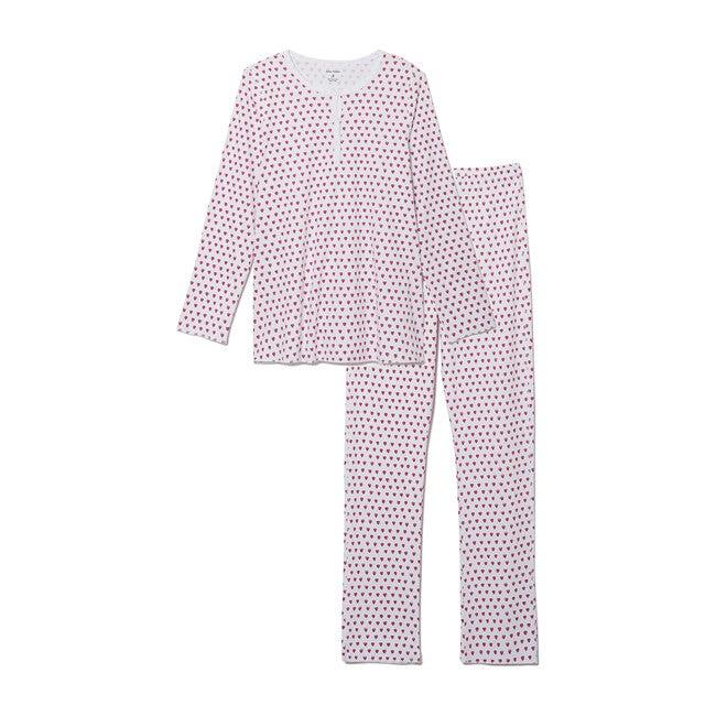Women's Hearts Pajamas, Pink