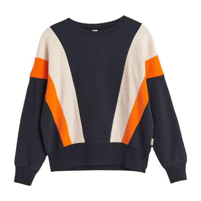 Vanka Sweatshirt, Navy Multi