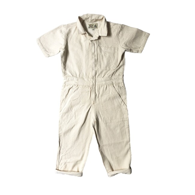 The Coveralls, Natural Denim