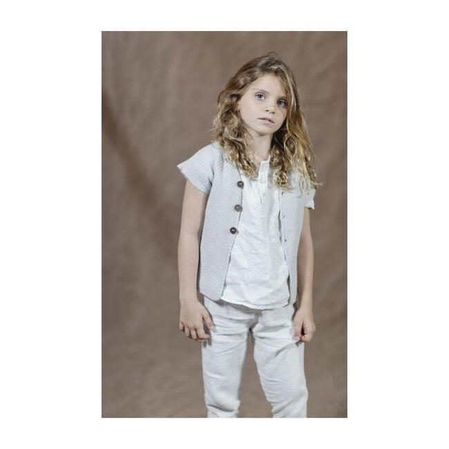 Max Knit Vest, Ice