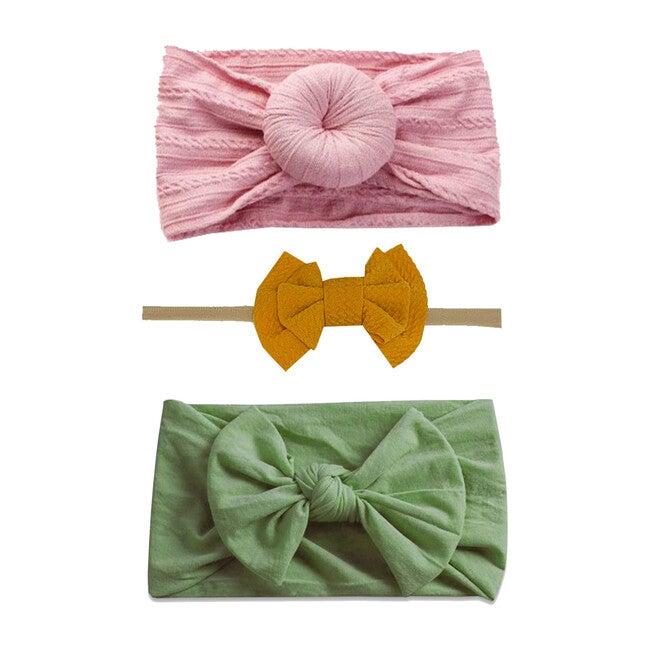 Spring Headband Set, Mustard