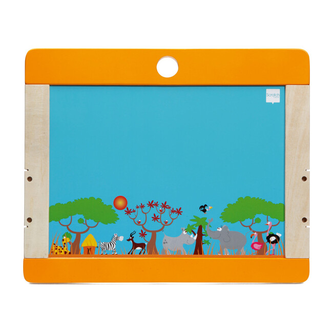 Safari Desktop Easel with 123 Magnets