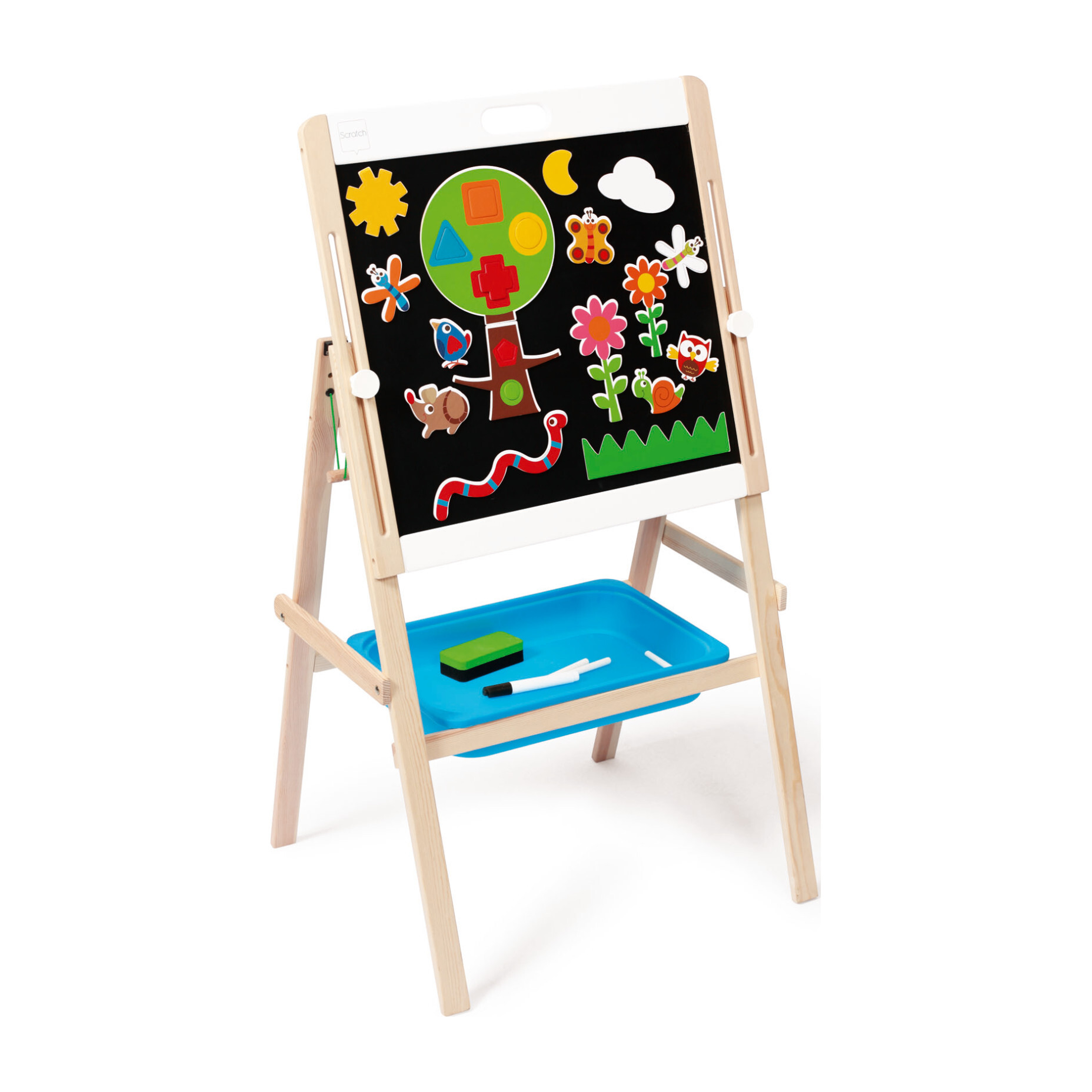 Two-Sided Easel
