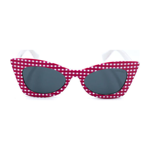 Sadie Ginhgam Sunglass, Pink