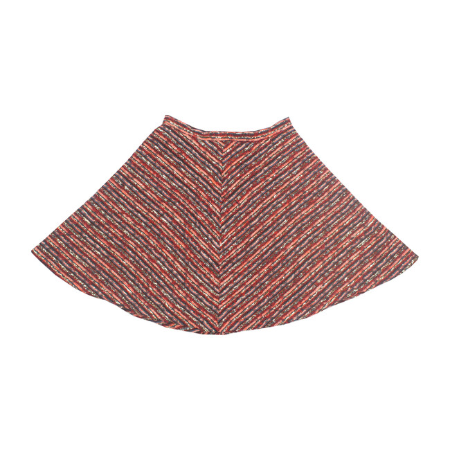 Carter Skirt, Red & Blue