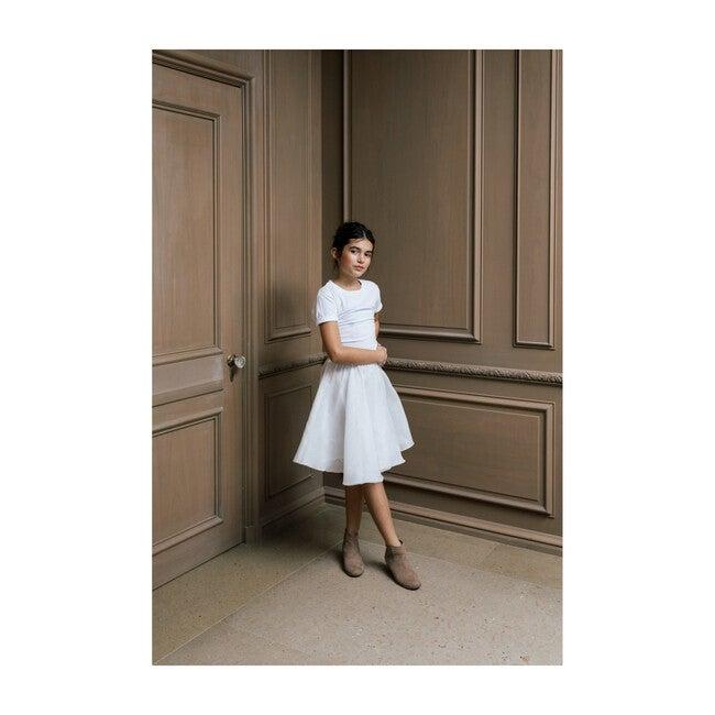 Vera Skirt, White