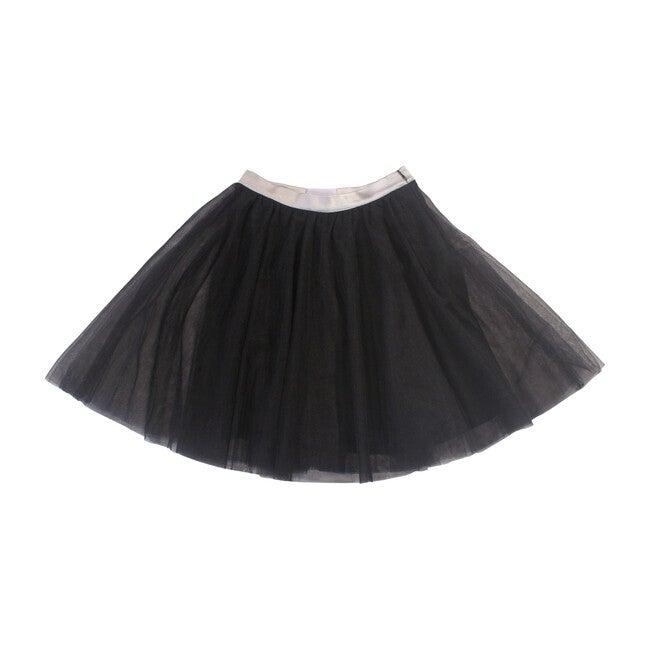 Courtney Skirt, Black & Silver