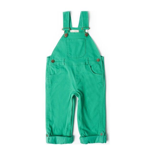 Emerald Green Overalls